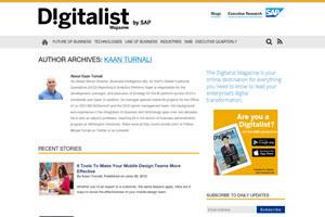 Kaan Turnali Blog Roll Digitalist