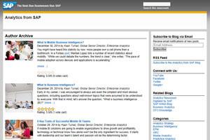 Kaan Turnali Blog Roll SAP Analytics